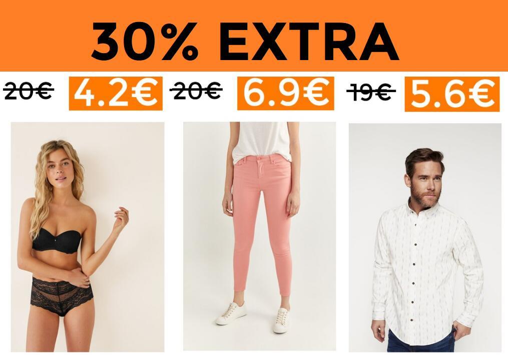 30% Extra en selección Fiftyoutlet