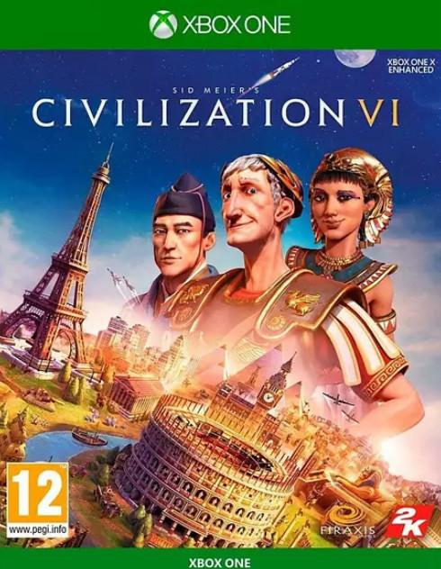 XBOX ONE: Sid Meier's Civilization VI (juego físico) por sólo 8,90€