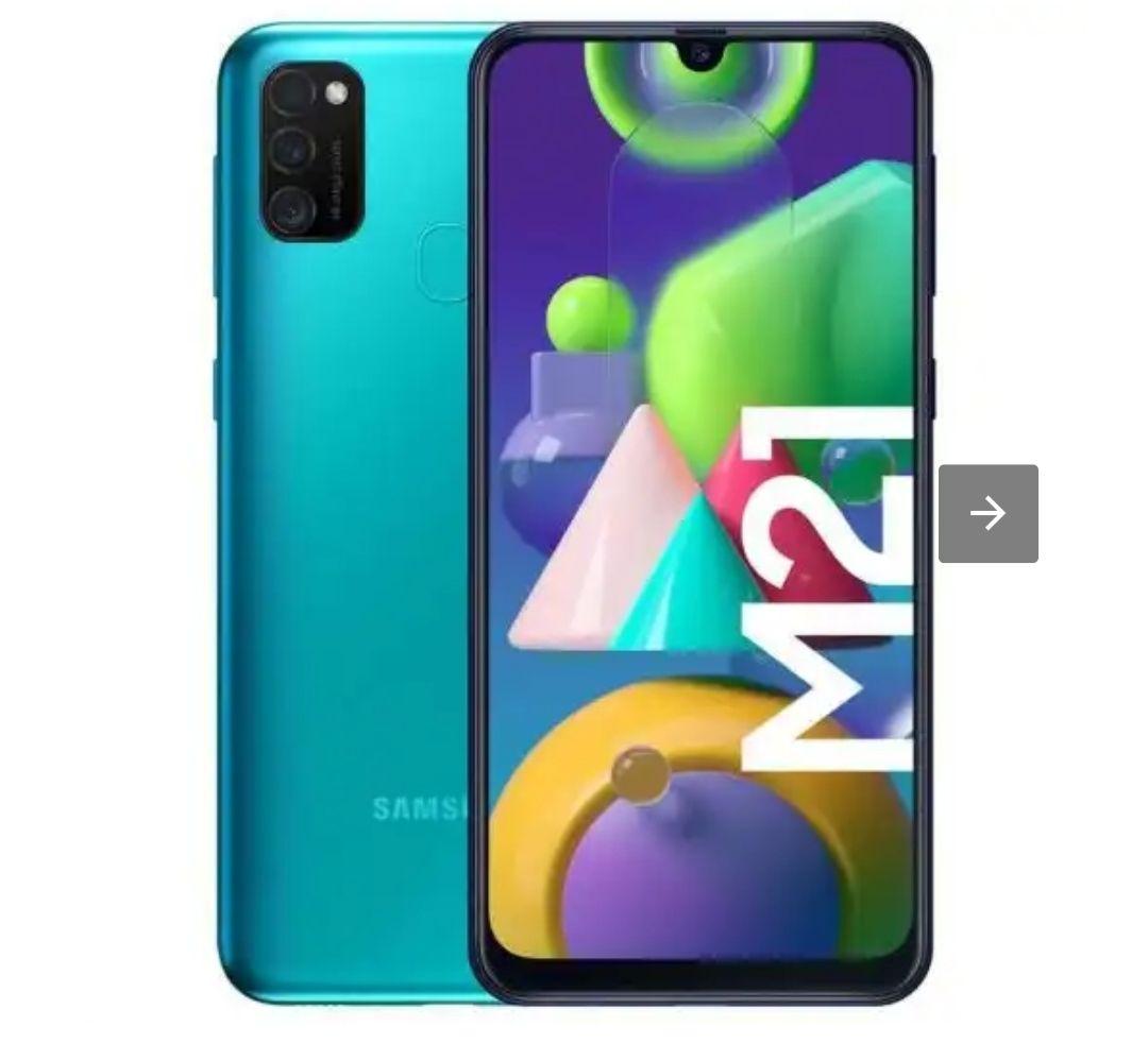 Samsung Galaxy M21 Verde Libre 4/64Gb