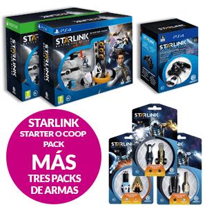Oferta Juego O Expansión Starlink + 3 Pack de armas por 9,95€