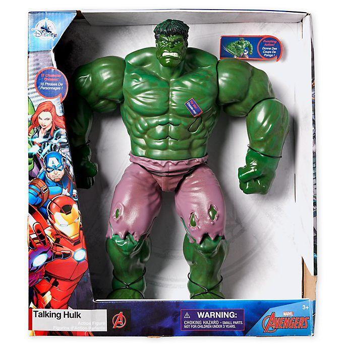 Figura Hulk con voz Disney Store, bicharraco 35cm