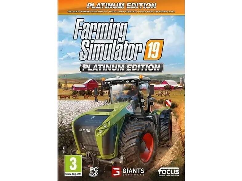 PC Farming Simulator 19 (Ed. Platinum Edition)