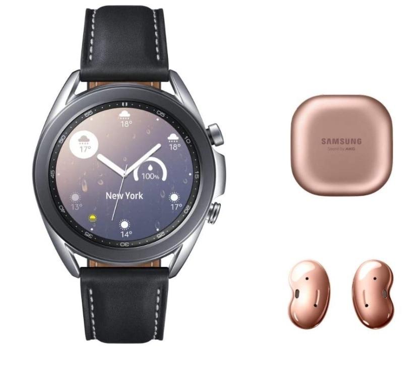 Samsung Galaxy Watch 3 + Galaxy Buds Live solo 272€ (Amazon Alemania)