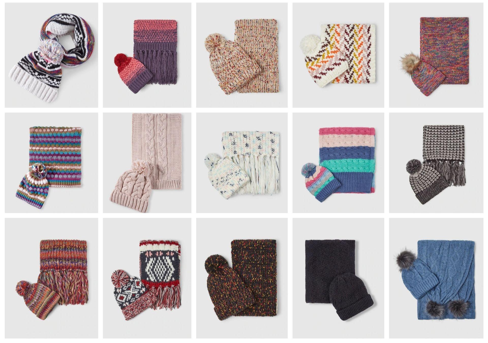 Reco conjunto de bufanda y gorro (7,79€/8,99€)