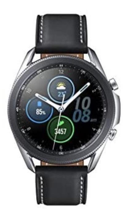 SAMSUNG Galaxy Watch 3 (Bluetooth) 45mm - Smartwatch Mystic Silver