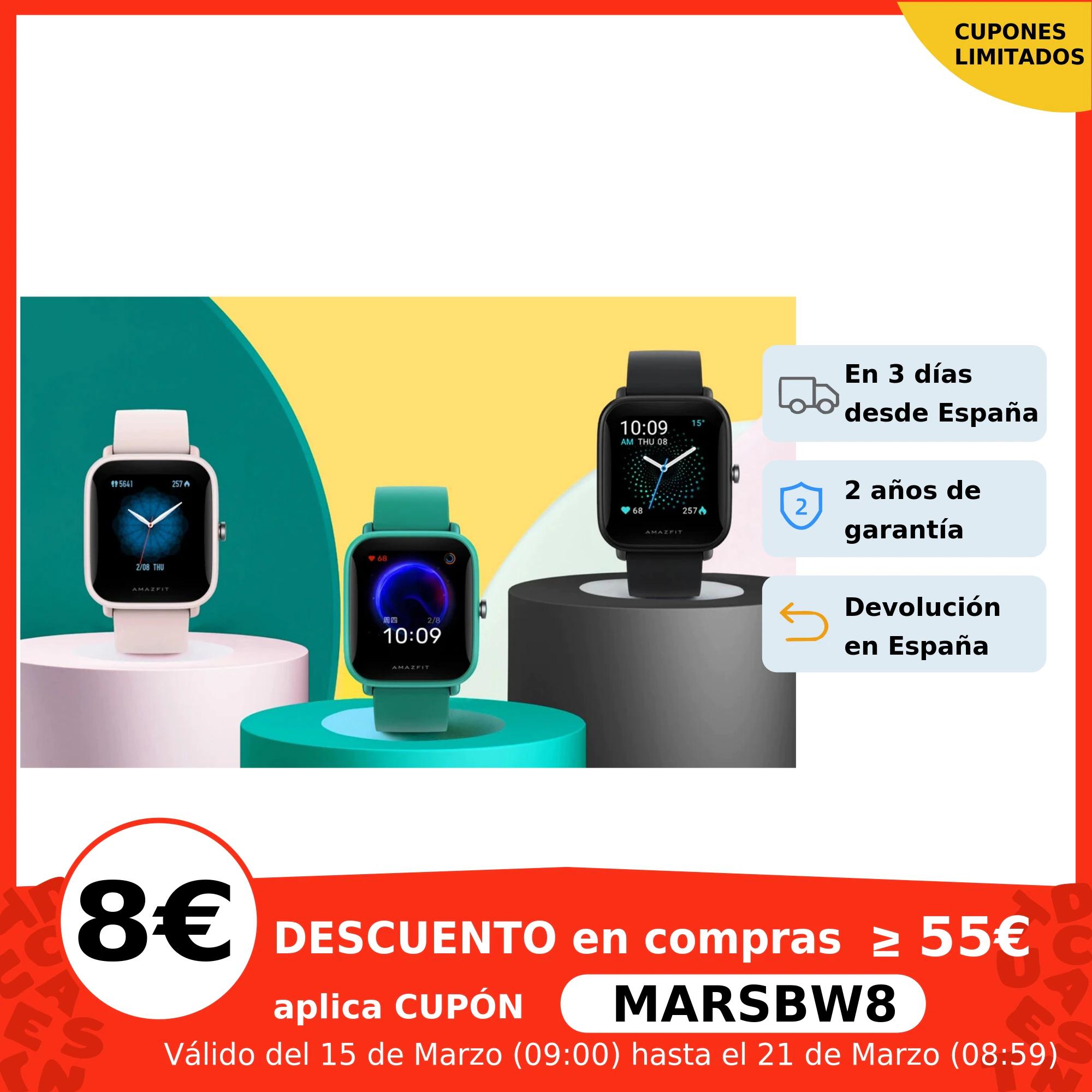 Amazfit Bip U Pro (Con GPS) Desde España