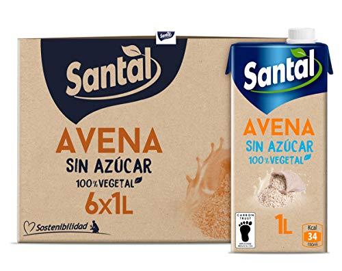 Santal Bebida Vegetal de Avena sin Azúcar 6 Litros
