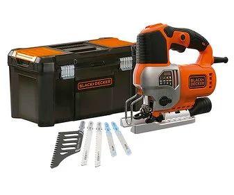 Sierra caladora incluye 5 hojas y caja herramientas. 650 W, BLACK & DECKER.