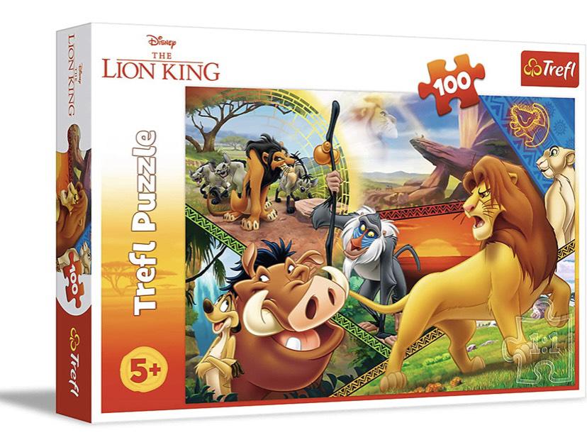 Puzzle 100 pie a Lion King