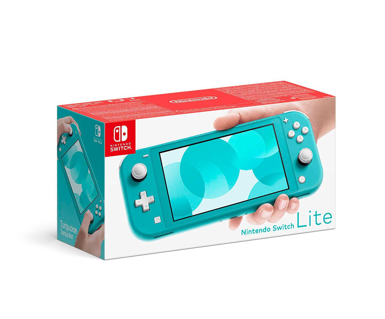 Nintendo Switch Lite Consola Turquesa/Gris 32Gb