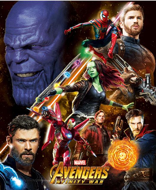 Recopilación de cuadros 3D por 7,66€ (Avengers, Mandalorian, Harry Potter, Frozen II, Stranger Things ...)
