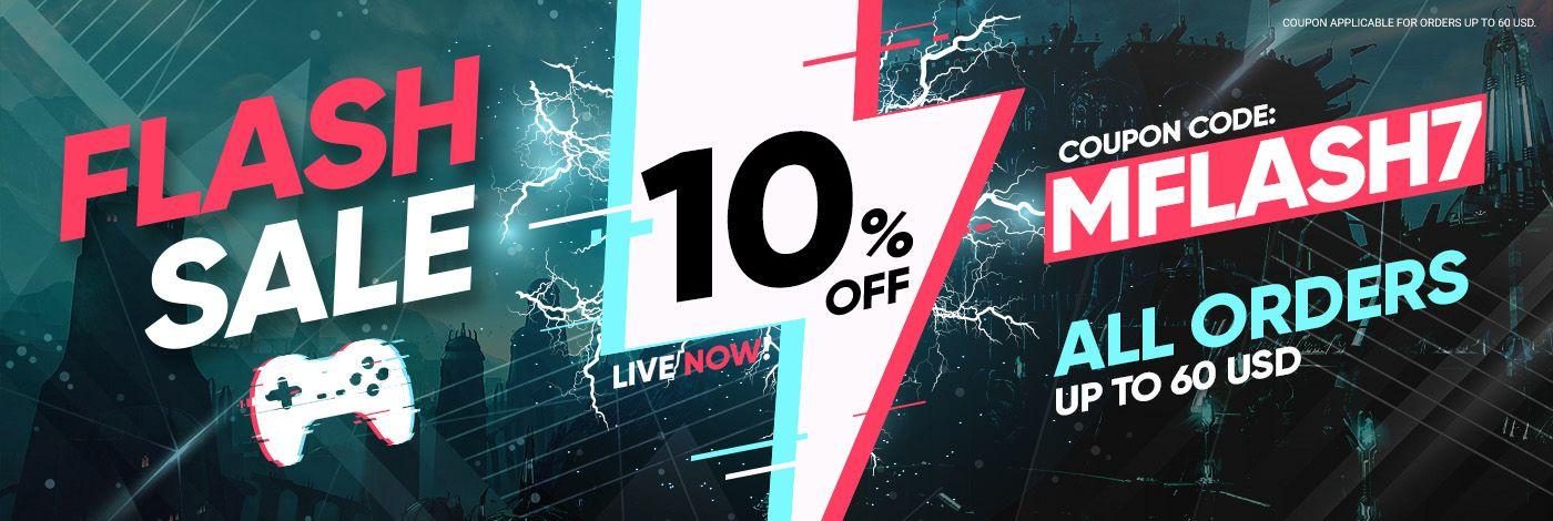 Código de descuento del 10% en GAMIVO