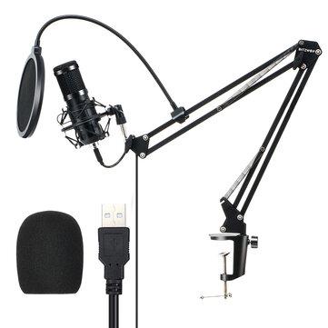 Microfono condesador con todo incluido