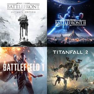 XBOX :: Battlefront Ultimate, Battlefront II, Titan Fall 2, Battlefield 1 y A Plague Tale: Innocence desde 3,99€