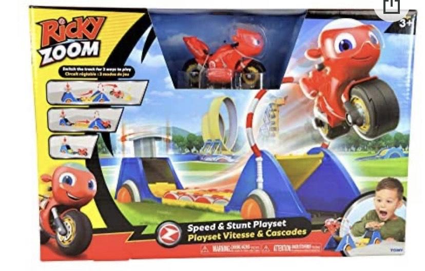 Bizak Ricky Zoom Playset Lanzador Acrobacias