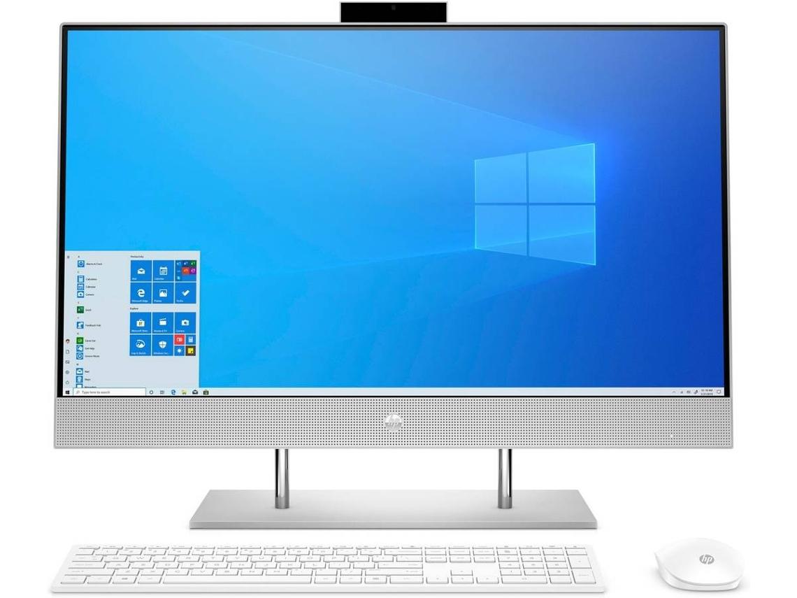 All in One HP 27-dp0080ns (Intel Pentium G6400T - RAM: 8 GB - 512 GB SSD PCIe - Intel UHD Graphics 610)
