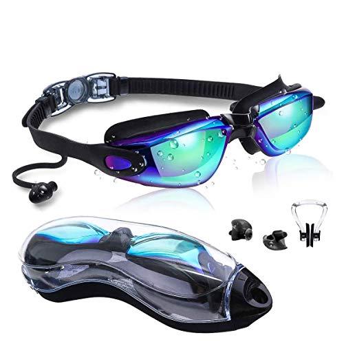 Gafas de Natación, Anti-Vaho Impermeable Anti-UV Polarizada