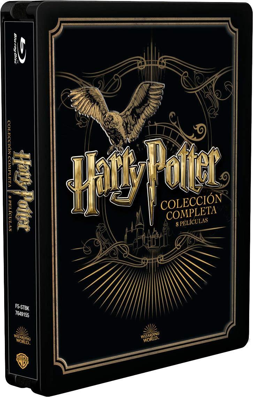Harry Potter Steelbook colección completa en Blu-ray - Mediamarkt en eBay