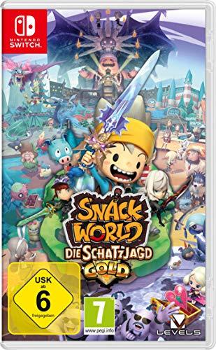 Snack World: De mazmorra en mazmorra (Nintendo Switch) Importación Alemana