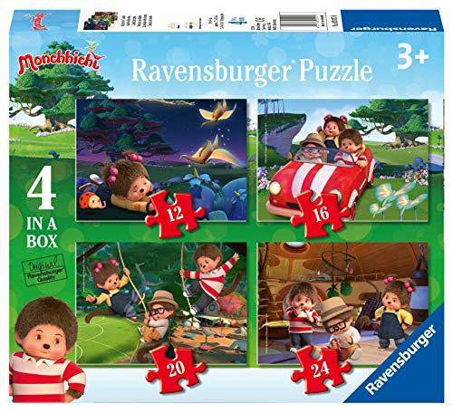 Ravensburger 4 puzzles progresivos