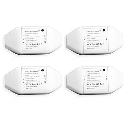 Pack 4x interruptores inteligentes Meross