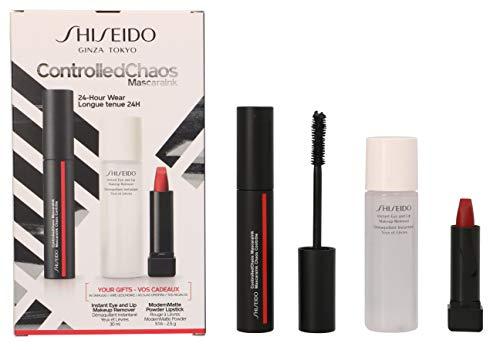 Shiseido Controlled Chaos mascara, lote 3 piezas
