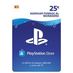 25€ de saldo para PSN store española