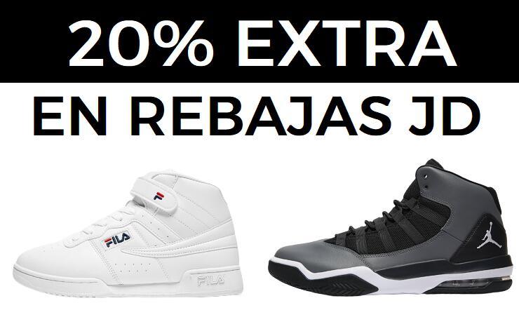 20% EXTRA en las rebajas JD Sports