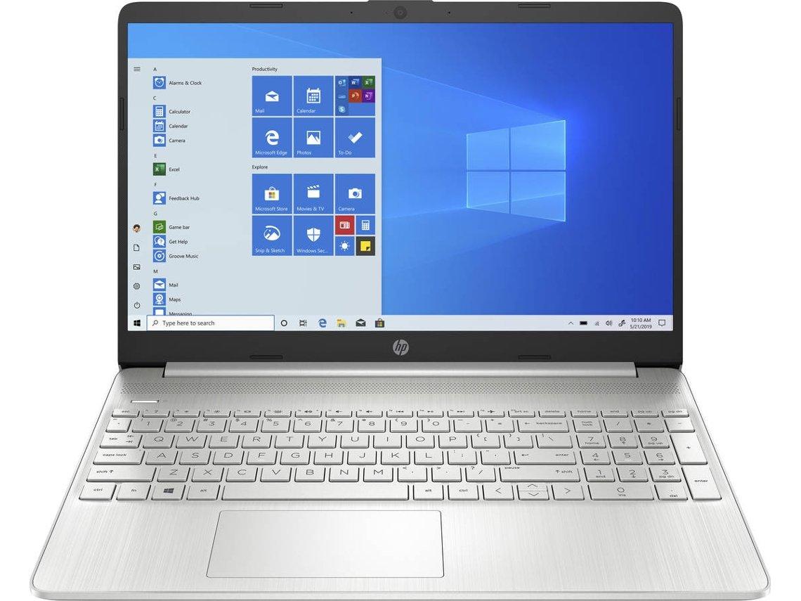 Portátil HP 15s-eq1093ns (15.6'' - AMD Ryzen 3 4300U - RAM: 8 GB - 256 GB SSD PCIe - AMD Radeon Graphics)
