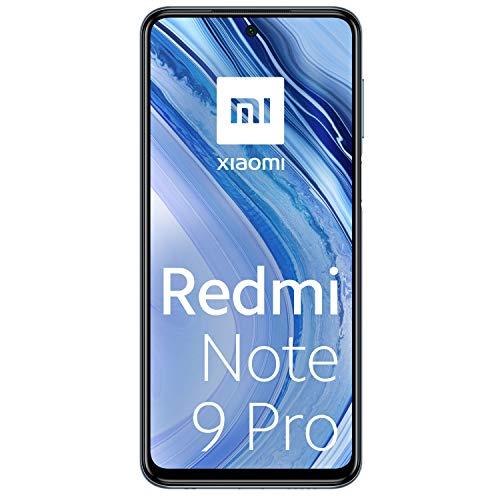 "Xiaomi Redmi Note 9 Pro - Pantalla FHD+ 6.67"" DotDisplay (6 GB+128 GB, cámara cuádruple 64 MP con IA, batería 5020 mAh) [Version Española]"