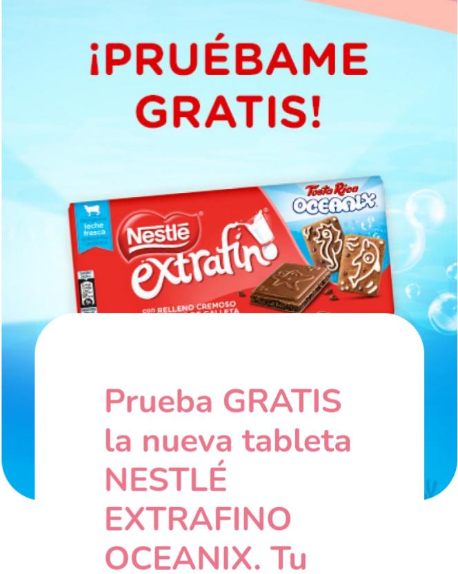 Reembolso Nestlé Extrafino Oceanix