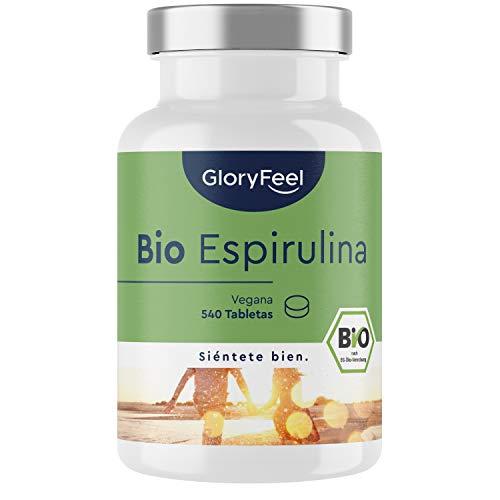 Espirulina Ecológica 540 Comprimidos Gloryfeel