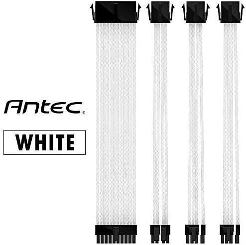 Antec cable de extensión blanco para PC