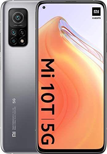 "Xiaomi Mi 10T (Pantalla 6.67"" Fhd+ DotDisplay, 6Gb+128Gb, Cámara de 64Mp, Snapdragon 865 5G, 5.000 mAh con carga rápida 33W)"