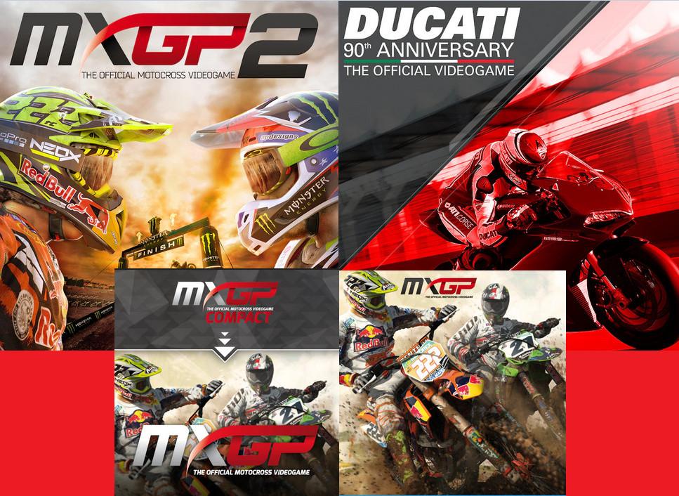 Juegos de motos PS4 desde 0,99€: (MXGP, MXGP 2, Ducati 90th Annyversary)