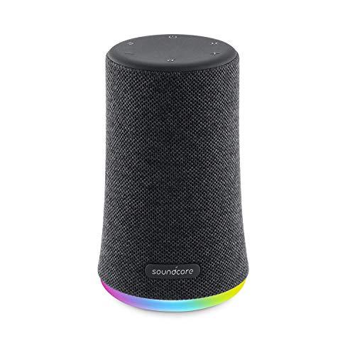 Soundcore Flare Mini Altavoz Bluetooth, Altavoz inalámbrico portátil, IPX7 Impermeable para Fiestas al Aire Libre, emisión de Luces LED