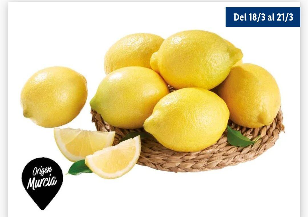 Limón Categoría 1 de Murcia sólo 1'15€ Kg