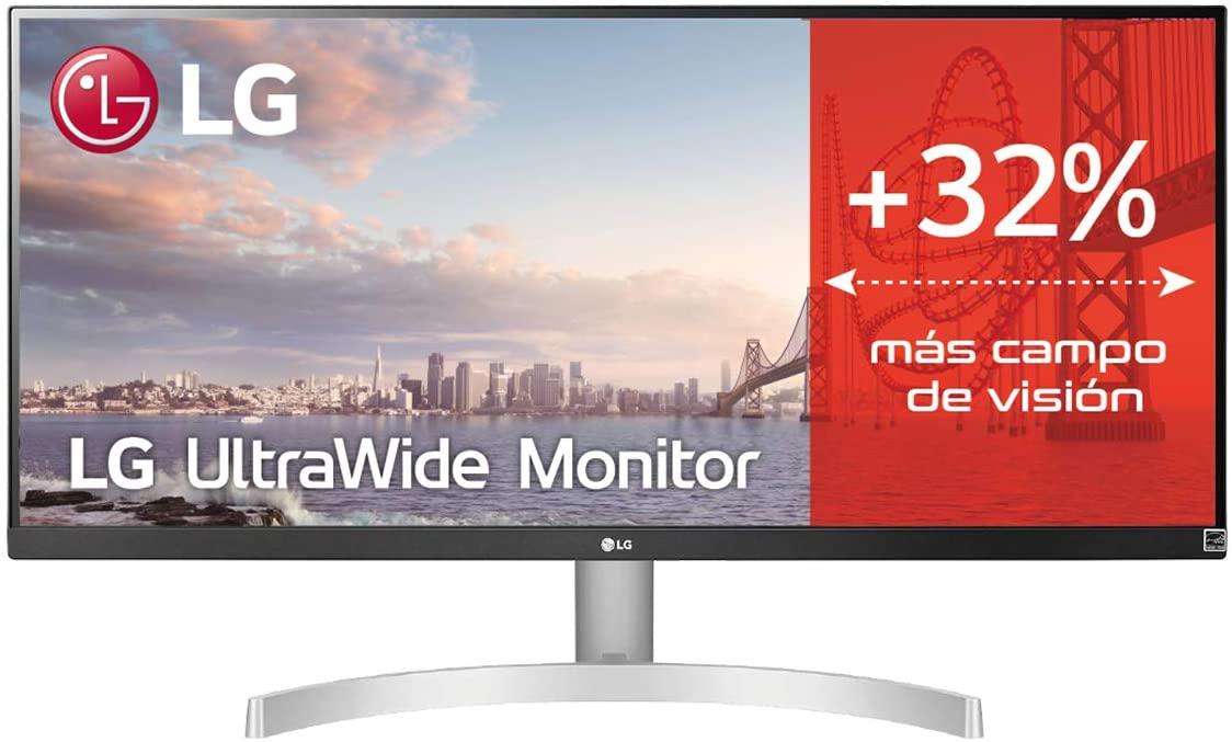 "Monitor LG 29WN600-W.AEU UltraWide de 29"" | IPS | 75 Hz | 5 ms | 2560 x 1080 Píxeles | por 199 €"