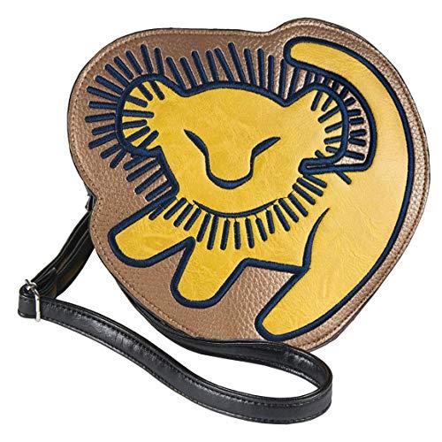 Bolso Bandolera 3D Lion King, Unisex color Marrón. 5x16x15 cm (W x H x L