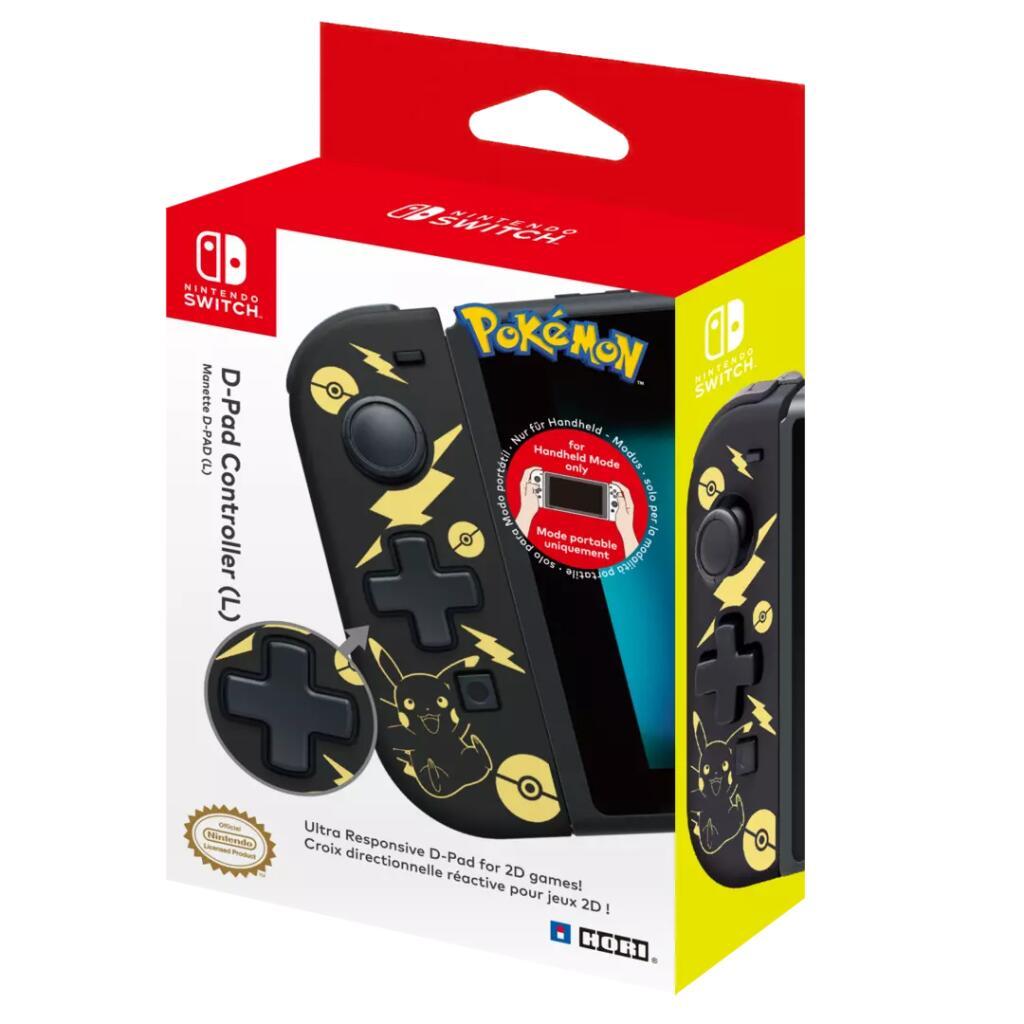 Joy-Con Izquierdo HORI Pikachu Nintendo Switch