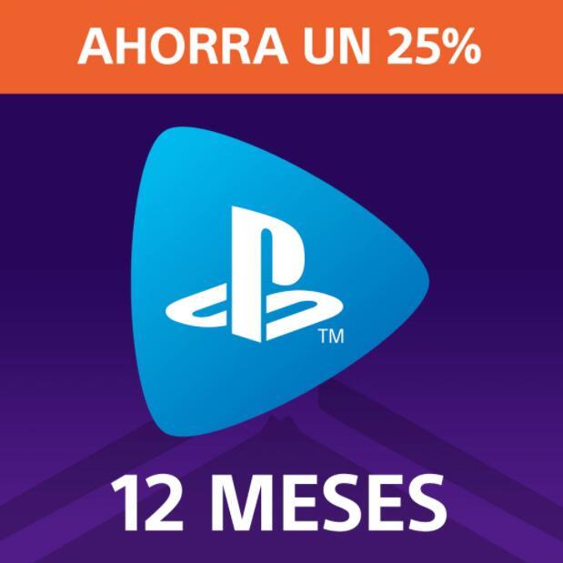 12 meses de PlayStation Now