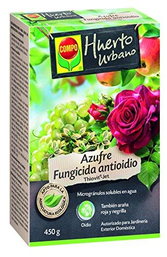 Compo fungicida antioidio azufre, 450g