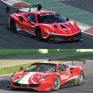 GRATIS :: Ferrari 488 Challenge Evo + Ferrari 488 GT3 Evo 2020 #AssettoCorsa