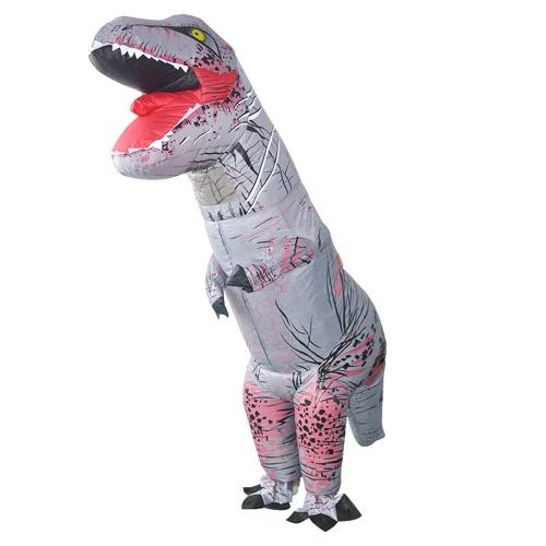 Disfraz de dinosaurio inflable