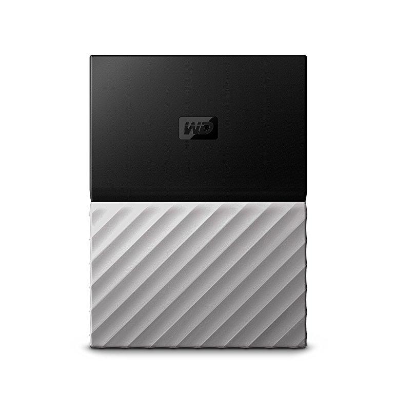 WD My Passport Ultra 4TB - Disco duro portátil y software de copia de seguridad automática para PC, Xbox One y PlayStation 4 - negro / gris