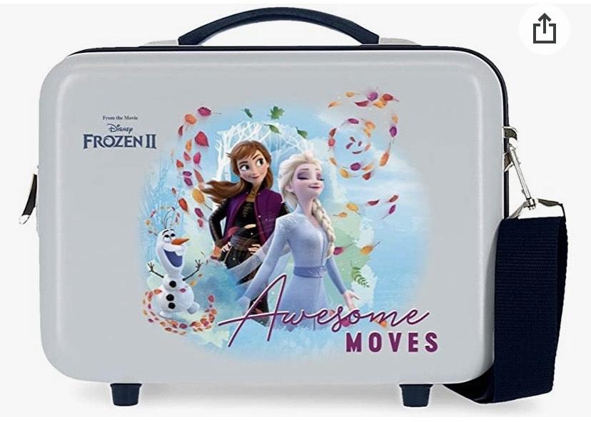 Frozen Neceser ABS Awesome Moves Adaptable, Azul, 29x21x15 cm