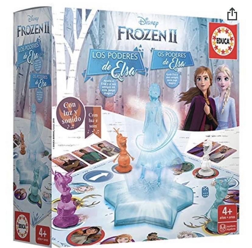 Frozen 2 - Los Poderes de Elsa, Juego de Mesa con luces y sonido