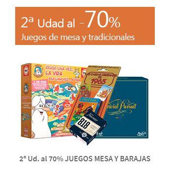 2ª Ud. al 70% JUEGOS MESA Y BARAJAS CARREFOUR