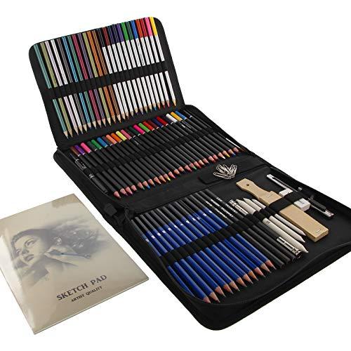 Estuche de colores 85 piezas