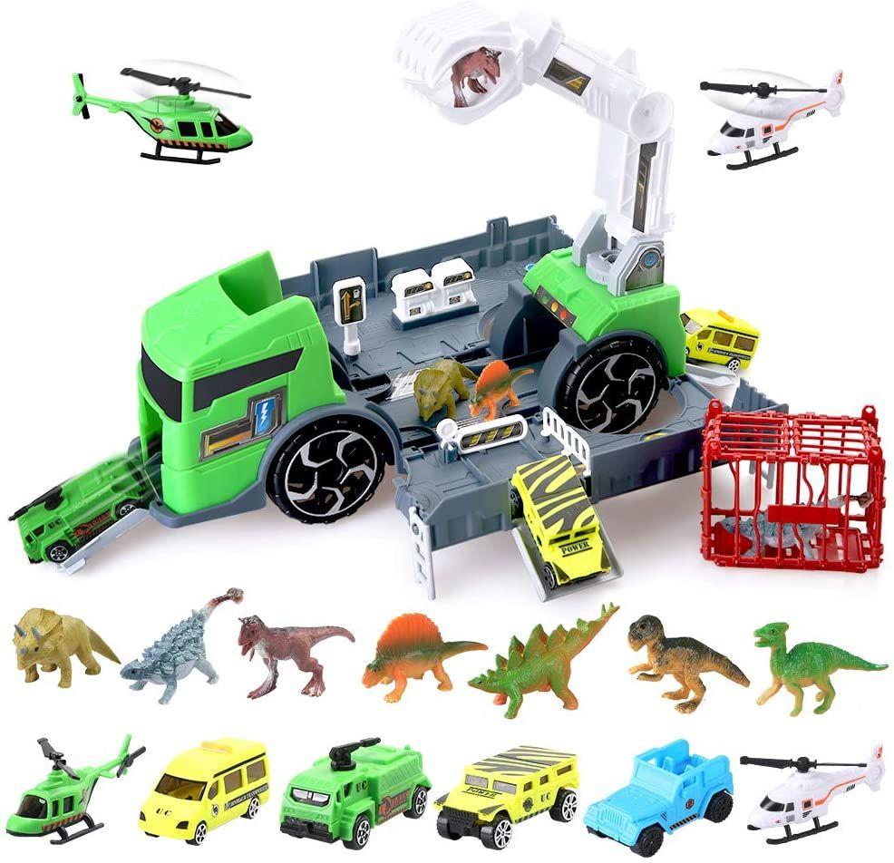 Camión De Captura De Dinosaurios Beebeerun
